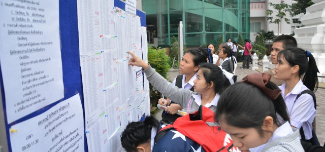 ศูนย์สอบโชติเวช คณะเทคโนโลยีคหกรรมศาสตร์ มทร.พระนคร เปิดสอบคัดเลือกเข้าศึกษาต่อระดับปริญญาตรี 4ปี และเทียบโอน กรณีพิเศษ (โควตา) ปีการศึกษา 2558 โดยมีนักเรียนให้ความสนใจเป็นอย่างมาก วันที่ 22 ธันวาคม 2557 ณ อาคารเรือนปัญญา คณะเทคโนโลยีคหกรรมศาสตร์ มทร.พระนคร